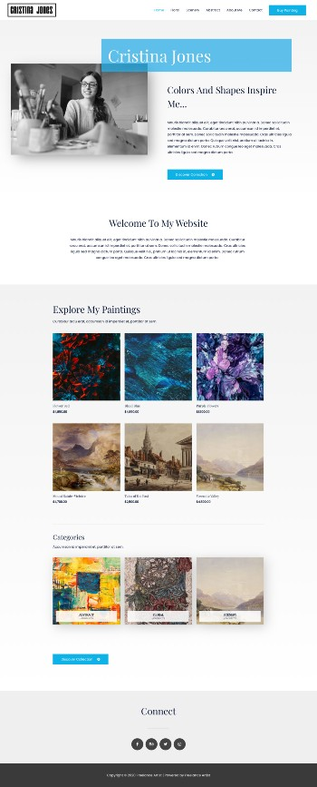 demo-site-web-artiste-peintre