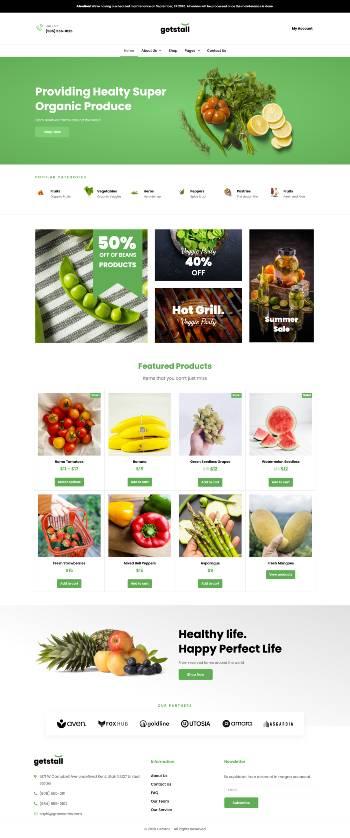 site-web-demo-ecommerce-alimentaire